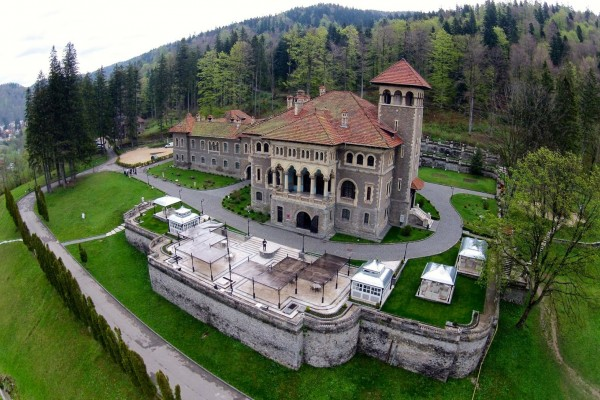 Cantacuzino Castle in Busteni