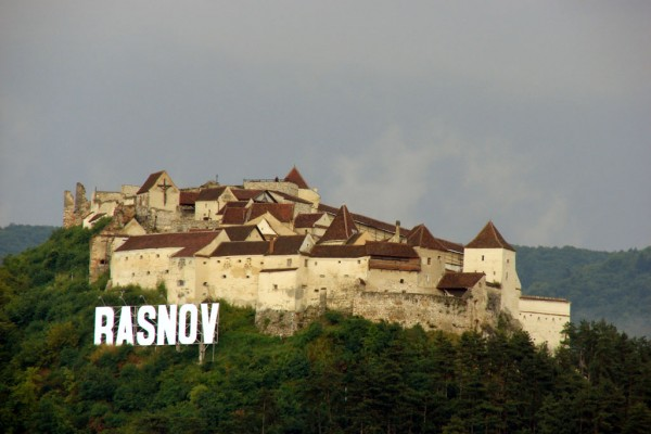 Rasnov Fortress in Rasnov