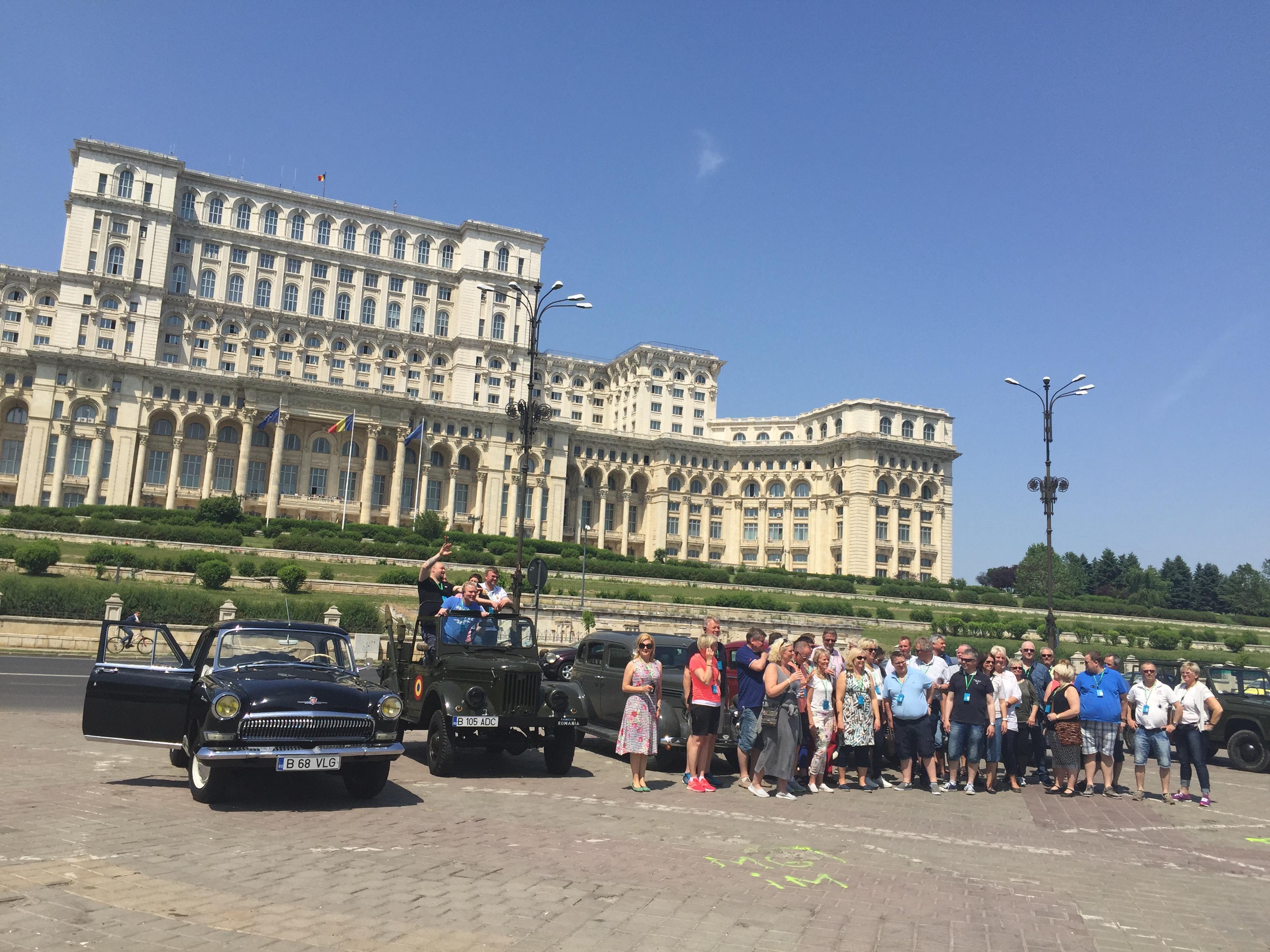 Meet Bucharest and Dracula